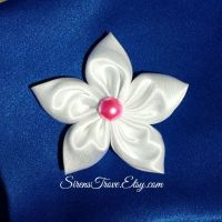 The Little Mermaid Marina Pearl Hair Pin Anderson by CreationsByMelissa