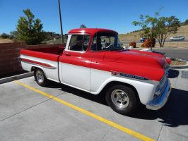 1959 Chevrolet Apache 31 Fleetside (Customized) by CadillacBrony