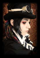 Steampunk Lady in Disguise by Goth-Virgy