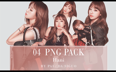 EXID Hani PNG PACK #04 by Pai by Siguo