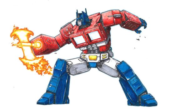 Optimus Prime by Keatopia