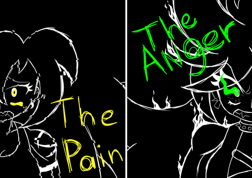 The Pain and The Anger by xElestar
