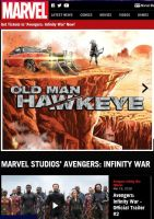 So this is where Hawkeye has been hiding by JMK-Prime