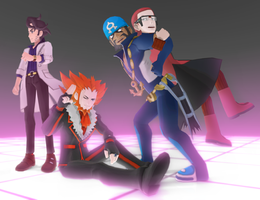 MMD Pokemon Men DL Off by Jakkaeront