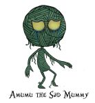 Amumu in Tim Burton's style by KaSniff