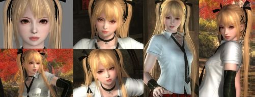 Inport PH4's face to MARIE. modify (DOA5LR_MOD) by TUBAKING2017
