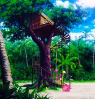 Treehouse by SquallEC