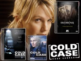 Cold Case DVD Case v2 Pack by gandiusz