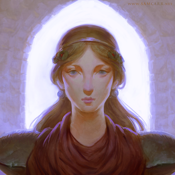 Guardian Ada, the Noble Longing by SamC-Art