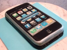 iPhone 3Gs by Sliceofcake