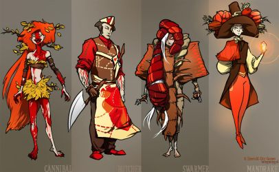 Fall classes - various 3 by ming85
