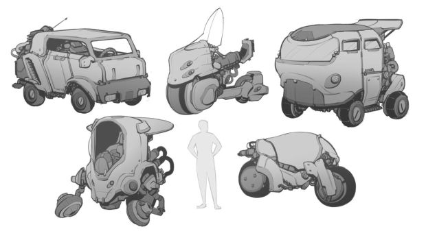 Mini Vehicles by BrotherBaston