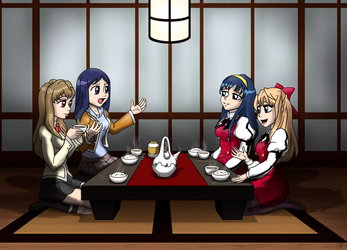 Tea Room Chat Himekane Natzuru by mandygirl78