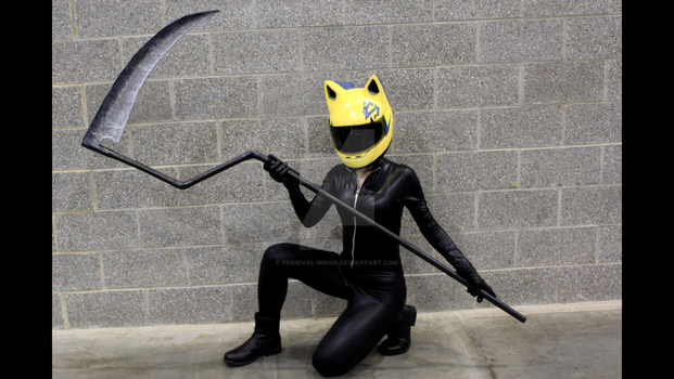 Celty at Anirevo 2017 by Primeval-Wings
