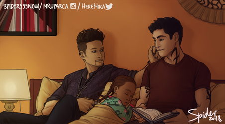 Bedtime story by spider999now