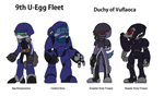 Egg troopers by MikeJMurdock