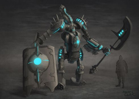 Garuda Infused Heavy Armor Concept 2 by mighty5cent
