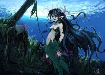 Sirena by julif-art
