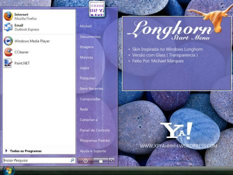 Longhorn Start Menu 2.0 by XPYahhh