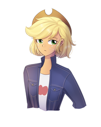 AJ short hair by LooknamTCN