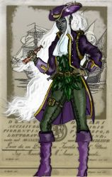 Theris of the High Seas-Done by Syreene