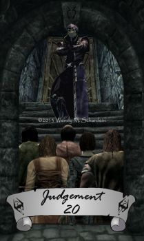 Skyrim Tarot 20 - Judgement by Whisper292
