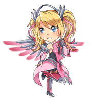 Pink Mercy by mingway