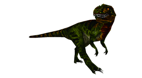 Fukuiraptor (placeholder model) by LucyKaedae
