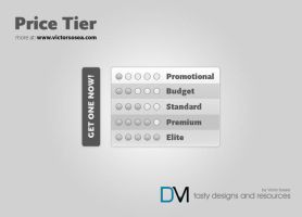 Price Tier Free PSD by victorsosea