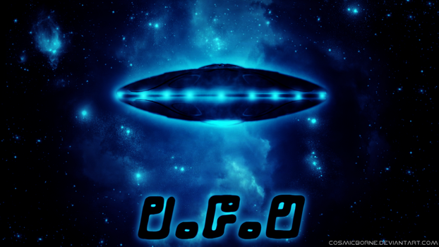 UFO by CosmicBorne