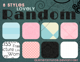 8 Styles Lovely Random By alenet21 by alenet21tutos