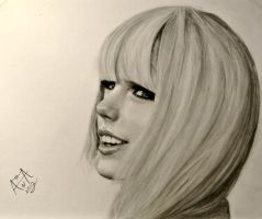 Taylor Swift Drawing by analuizantunes