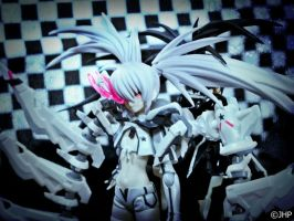 Black Rock Shooter Game WRS by JayHedgePhotography