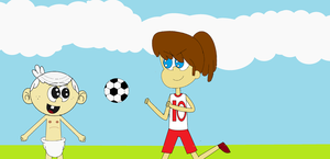 The Loud House - The First Day When I Love Soccer by kbinitiald