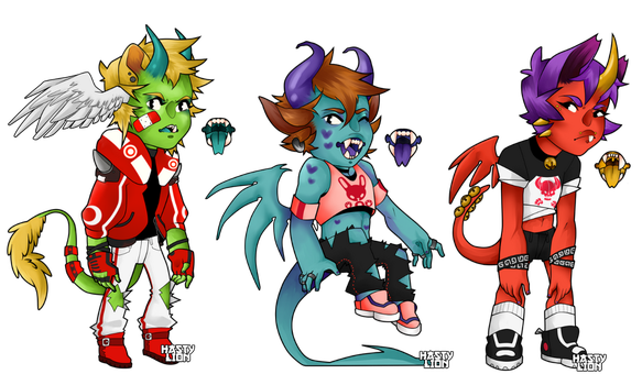 More Dragon Pal Adopts [OPEN] by HastyLion