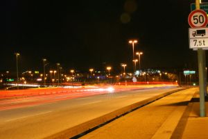 Light Painting on Streets by Dodi0r