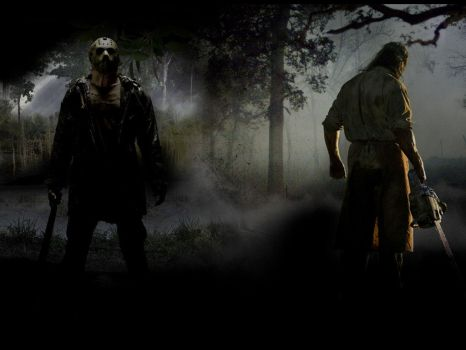 Jason and Leatherface by effex213