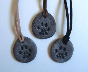 Cat Pawprint Charms by Nightlyre
