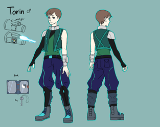 Torin Reference by alizawren