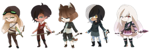 Weaponry Adopts [CLOSED] by CynicalAdopts