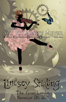 Lindsey Stirling Talenthouse Contest Entry by AkiAmeko