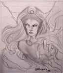 Storm sketch pencils fanexpo 2012 by Csyeung