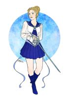 Commission Flats: Sailor Ganymede by Angel-Creations