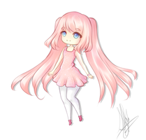 Chibi Request for KimikoSakura by ShayInator
