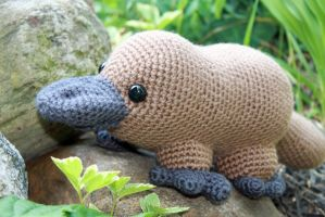 Platypodes Are Cool by MilesofCrochet