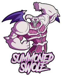 Merch: Summoned SWOLE! by DrCrafty