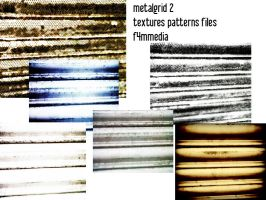 metalgrid textures and patterns 2 by f4mmedia