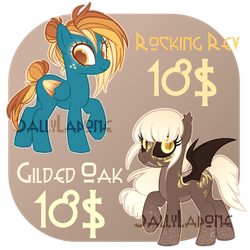 Adoptable Duo! #19 [CLOSED] by SallyLapone