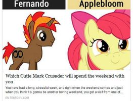 Which CMC Will Spend The Weekend With Me by Omnianimeman