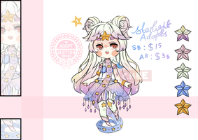 [closed] Starlight adopt auction 1 by TaiyouChee